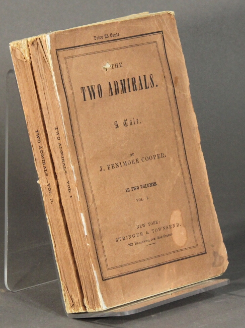 The two admirals. A tale. James Fenimore Cooper.