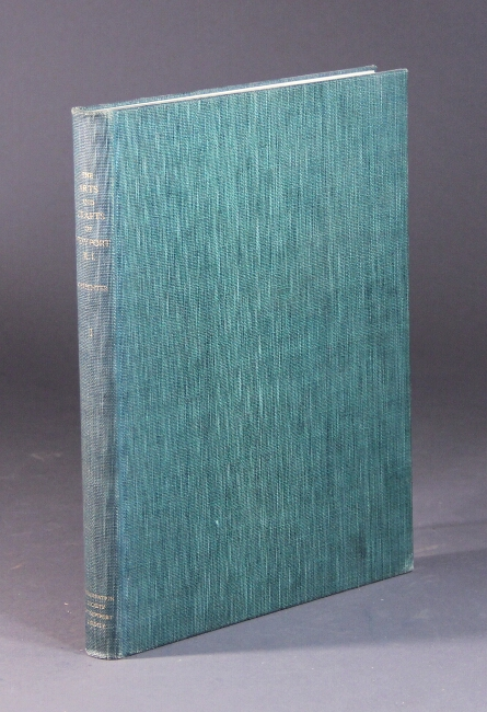 The arts and crafts of Newport Rhode Island 1640-1820. Kenneth Carpenter.