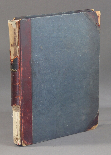 Letter copy book from the US Consul to Aix-la-Chapelle, Germany 1888-1896. James Russell Parsons.