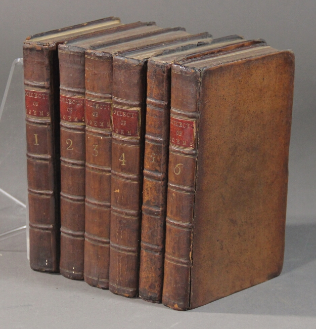 A collection of poems in six volumes. By several hands. Robert Dodsley, ed.