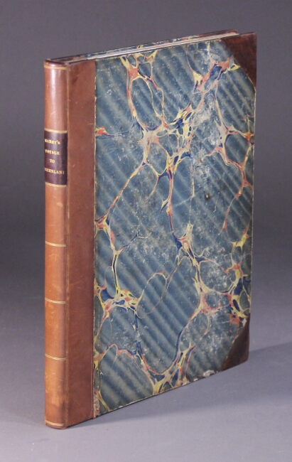 Journal of a voyage to Greenland in the year 1821. With graphic illustrations. George William Manby.