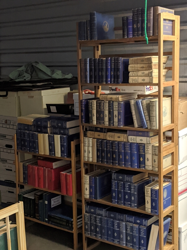 A major collection of more than 200 yacht registers