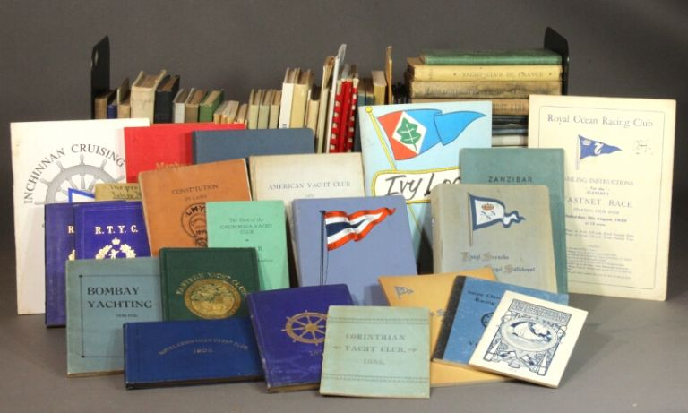A world-class collection of approximately 1,700 yacht club annuals and histories