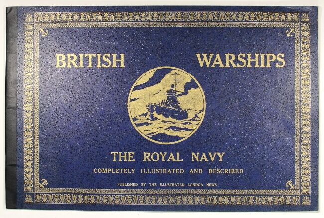 British warships. The Royal Navy completely illustrated and described [wrapper title]