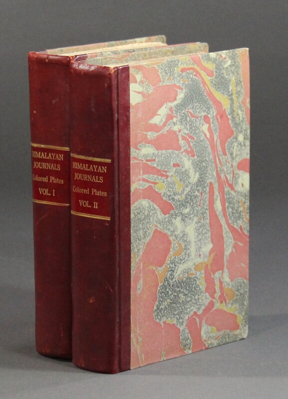 Himalayan journals; or, notes of a naturalist in Bengal, the Sikkim and Nepal Himalayas, the Khasia Mountains, &c. With maps and illustrations. In two volumes. Joseph Dalton Hooker.