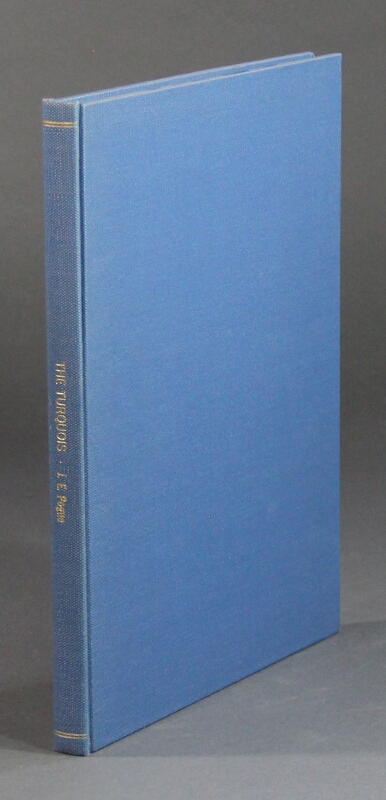 Memoirs of the National Academy of Sciences. Volume XII, Part II ... The turquoise. A study of its history, mineralogy, geology, ethnology, archaeology, mythology, folklore, and technology. Joseph E. Pogue.