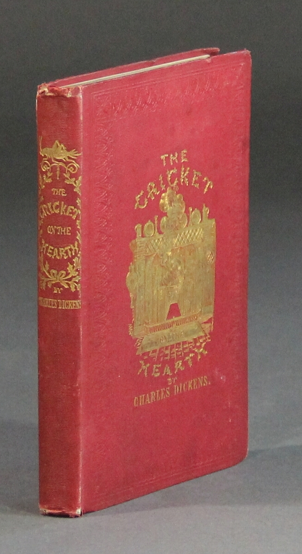 The cricket on the hearth. A fairy tale of home ... Eighth edition. Charles Dickens.
