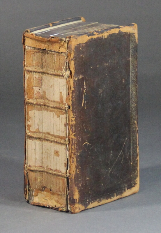 Mr. Nathan Bailey's English dictionary, shewing both the orthography and the orthoepia of that tongue ... translated into German and improved, as also added an appendix not onely [sic] of such words as are not of so general in use ... by Theodore Arnold. Nathan Bailey.