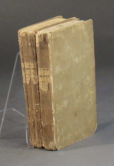 The pioneers, or the sources of the Susquehanna; a descriptive tale. J. F. Cooper.