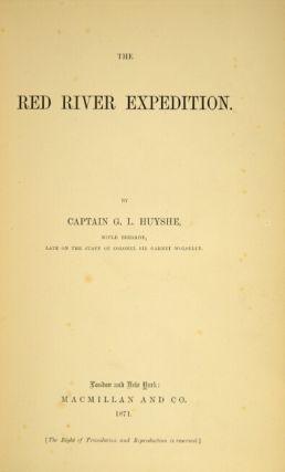 The Red River expedition.