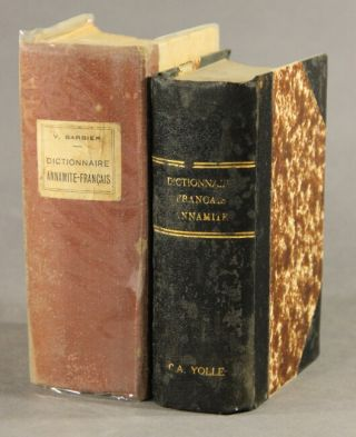 Dictionnaire Francaise-Annamite [-Annamite-Francaise]. 6th edition.