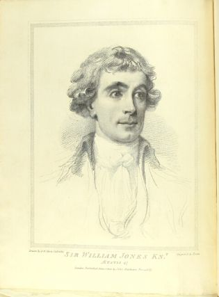 Memoirs of the life, writings and correspondence of Sir William Jones ... by Lord Teignmouth.