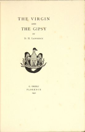 The virgin and the gipsy. D. H. Lawrence.