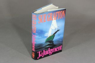J is for judgement. SUE GRAFTON.
