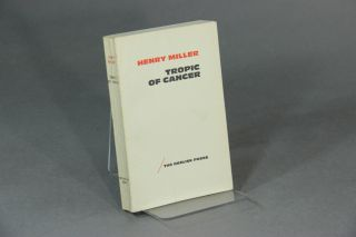 Tropic of Cancer. Preface by Ana's Nin. HENRY MILLER