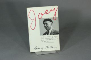 Joey: a loving portrait of Alfred Perlès together with some bizarre episodes relating to the other sex. Volume III, Book of Friends. HENRY MILLER.
