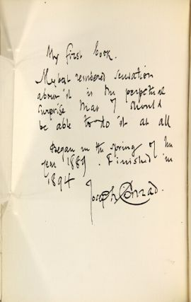 Notes by Joseph Conrad written in a set of his first editions in the possession of Richard Curle with an introduction and explanatory comments. With a preface by Jessie Conrad.