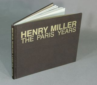 Henry Miller--the Paris years. ROBERT CROSS.