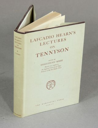 Lafcadio Hearn's lectures on Tennyson