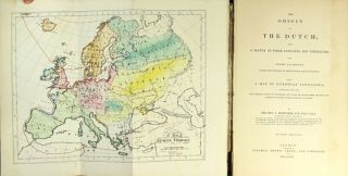 The origin of the Dutch; with a sketch of their language and literature, and short examples, tracing the progress of their tongue, and its dialects…. JOSEPH BOSWORTH, Rev.