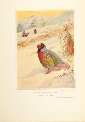 Pheasants: their lives and homes