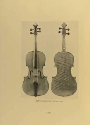 How many Strads? Our heritage from the master. A tribute to the memory of a great genius compiled in the year marking the tercentenary of his birth. Being a tabulation of works believed to survive produced in Cremona by Antonio Stradivari between 1666 and 1737…
