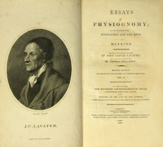 Essays on physiognomy; for the promotion and the knowledge and the love of mankind?translated...