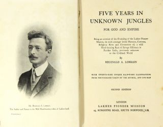 Five years in unknown jungles for God and empire. Being an account of the founding of the Lakher...