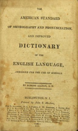 The American standard of orthography and pronunciation, and improved dictionary of the English...