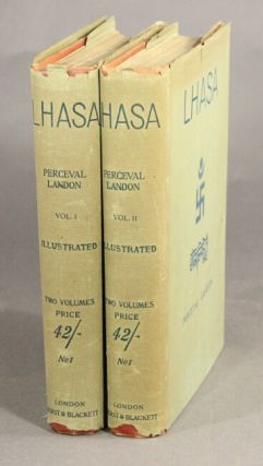 Lhasa. An account of the country and people of central Tibet and of the progress of the mission sent there by the English government in the year 1903-4. Written with the help of all the principal persons of the mission by...