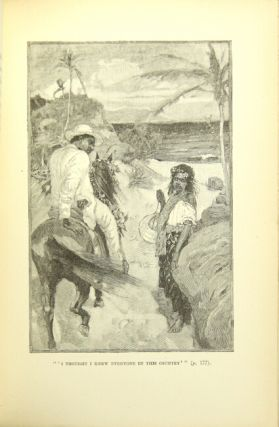 Island nights' entertainments. Consisting of The Beach of Falesa / The Bottle Imp / The Isle of Voices. With illustrations by Gordon Browne and W. Hatherell