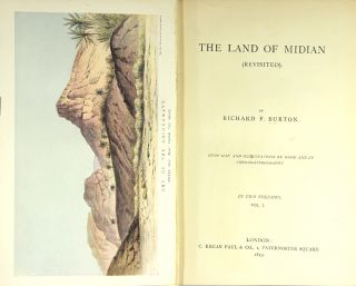 The land of Midian (revisited). Richard F. Burton.