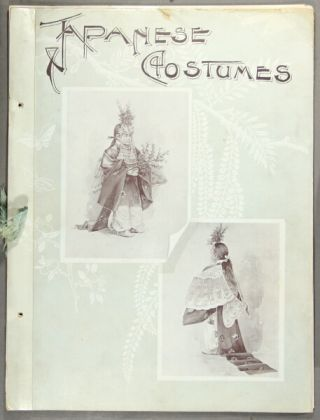 Japanese costume before the restoration [with] Military costume in old Japan