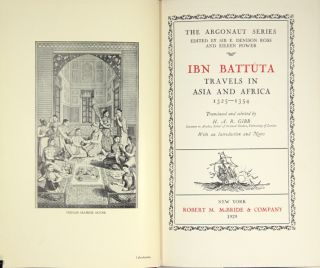 Travels in Asia and Africa 1325-1354. Ibn Battúta