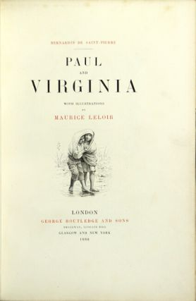 Paul and Virginia ... with illustrations by Maurice Leloir