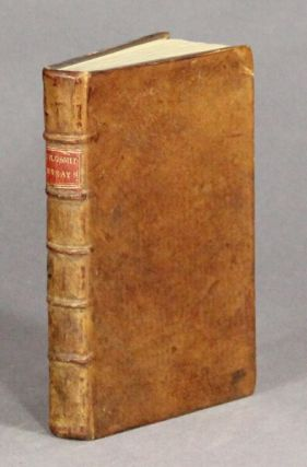 Essays. By Oliver Goldsmith. The second edition, corrected