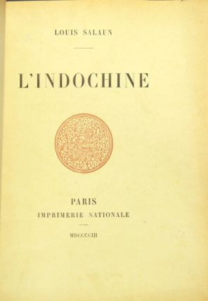 L'Indochine. Louis Salaun