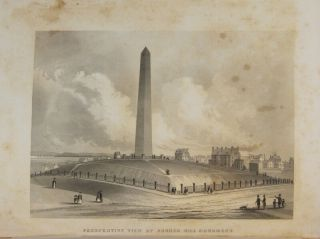 A panoramic view from Bunker Hill Monument, engraved by James Smillie, from a drawing by R.P. Mallory