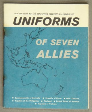 Uniforms of seven allies [cover title]