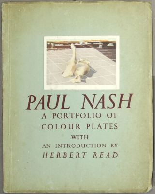 Paul Nash. Ten coloured plates and a critical appreciation by Herbert Read. Also a biographical note with a portrait and two half-tone reproductions in the text. Paul Nash.