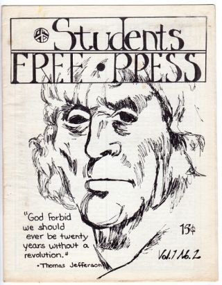 Students free press, Vol. 1, no. 2