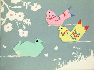 Happy origami: the Japanese art of paper folding [cover title]