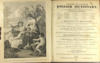 A complete and universal English dictionary. James Barclay.