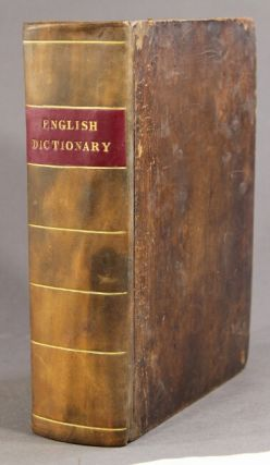 A complete and universal English dictionary