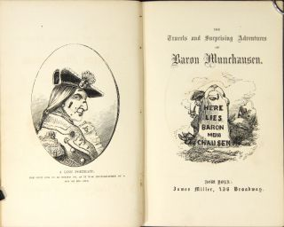 The travels and suprising adventures of Baron Munchausen. Illustrated by Alfred Crowquill