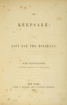 The keepsake: a gift for the holidays