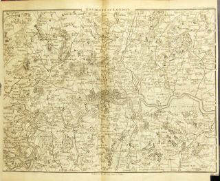 Cary's new itinerary: or, an accurate delineation of the great roads, both direct and cross, throughout England and Wales; with many of the principal roads in Scotland