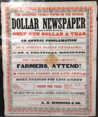 Dollar newspaper. A. H. Simmons, Co.