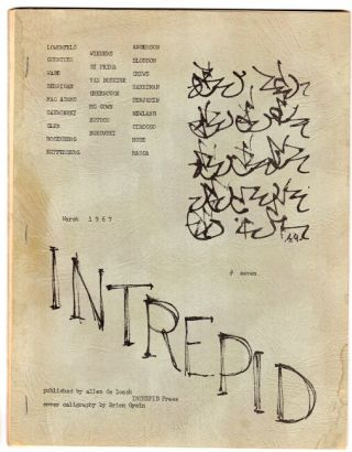 Intrepid no. 7. Allen De Loach, ed.