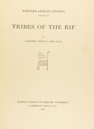 Tribes of the Rif